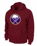 Wholesale Cheap NHL Buffalo Sabres Big & Tall Logo Pullover Hoodie Red