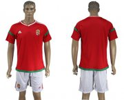 Wholesale Cheap Hungary Blank Home Soccer Country Jersey