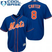 Wholesale Cheap Mets #8 Gary Carter Blue Cool Base Stitched Youth MLB Jersey