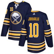 Wholesale Cheap Adidas Sabres #10 Henri Jokiharju Navy Blue Home Authentic Stitched Youth NHL Jersey