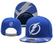 Wholesale Cheap Tampa Bay Lightning Snapback Ajustable Cap Hat YD