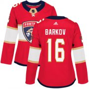 Wholesale Cheap Adidas Panthers #16 Aleksander Barkov Red Home Authentic Women's Stitched NHL Jersey