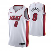 Wholesale Cheap Nike Heat #0 Meyers Leonard Men's Association Edition White NBA Jersey