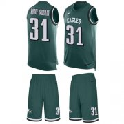 Wholesale Cheap Nike Eagles #31 Nickell Robey-Coleman Green Team Color Men's Stitched NFL Limited Tank Top Suit Jersey