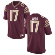 Wholesale Cheap Men's Florida State Seminoles #17 Charlie Ward Red Stitched College Football 2016 Nike NCAA Jersey