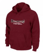 Wholesale Cheap Tampa Bay Buccaneers Font Pullover Hoodie Red