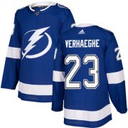 Cheap Adidas Lightning #23 Carter Verhaeghe Blue Home Authentic Stitched NHL Jersey