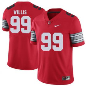 Wholesale Cheap Ohio State Buckeyes 99 Bill Willis Red 2018 Spring Game College Football Limited Jersey