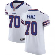 Wholesale Cheap Nike Bills #70 Cody Ford White Men's Stitched NFL Vapor Untouchable Elite Jersey