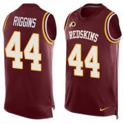 Wholesale Cheap Nike Redskins #44 John Riggins Burgundy Red Team Color Men's Stitched NFL Limited Tank Top Jersey