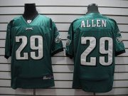 Wholesale Cheap Eagles #29 Nathaniel Allen Green Stitched NFL Jersey