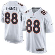 Wholesale Cheap Nike Broncos #88 Demaryius Thomas White Men's Stitched NFL Game Event Jersey