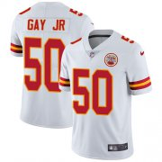 Wholesale Cheap Nike Chiefs #50 Willie Gay Jr. White Youth Stitched NFL Vapor Untouchable Limited Jersey