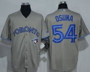 Wholesale Cheap Blue Jays #54 Roberto Osuna Grey New Cool Base Stitched MLB Jersey