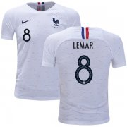 Wholesale Cheap France #8 Lemar Away Kid Soccer Country Jersey
