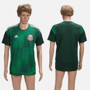 Wholesale Cheap Mexico Blank Green Training Soccer Country Jersey