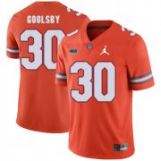 Wholesale Cheap Florida Gators 30 DeAndre Goolsby Orange College Football Jersey