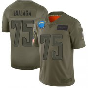 Wholesale Cheap Nike Chargers #75 Bryan Bulaga Camo Youth Stitched NFL Limited 2019 Salute To Service Jersey