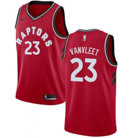 Wholesale Cheap Nike Raptors #23 Fred VanVleet Red NBA Swingman Icon Edition Jersey