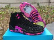 Wholesale Cheap Air Jordan 12 Doernbecher Freestyle Black/Pink