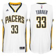 Wholesale Cheap Indiana Pacers #33 Myles Turner 2014-15 New Swingman Home Jersey White