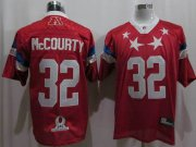 Wholesale Cheap Patriots #32 Devin McCourty 2011 Red Pro Bowl Stitched NFL Jersey