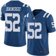 Wholesale Cheap Nike Colts #52 Ben Banogu Royal Blue Men's Stitched NFL Limited Rush Jersey