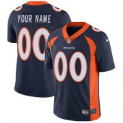 Wholesale Cheap Nike Denver Broncos Customized Navy Blue Alternate Stitched Vapor Untouchable Limited Men's NFL Jersey