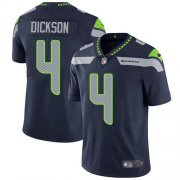 Wholesale Cheap Nike Seahawks #4 Michael Dickson Steel Blue Team Color Youth Stitched NFL Vapor Untouchable Limited Jersey