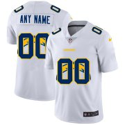 Wholesale Cheap Nike Los Angeles Chargers Customized White Team Big Logo Vapor Untouchable Limited Jersey