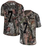 Wholesale Cheap Nike Saints #7 Morten Andersen Camo Men's Stitched NFL Limited Rush Realtree Jersey