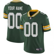 Wholesale Cheap Nike Green Bay Packers Customized Green Team Color Stitched Vapor Untouchable Limited Men's NFL Jersey
