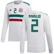 Wholesale Cheap Mexico #2 Araujo Away Long Sleeves Soccer Country Jersey
