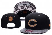 Wholesale Cheap Bears Fresh Logo Black Gray Adjustable Hat YD