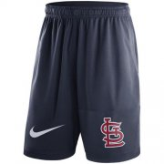 Wholesale Cheap Men's St.Louis Cardinals Nike Navy Dry Fly Shorts