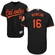 Wholesale Cheap Orioles #16 Trey Mancini Black Flexbase Authentic Collection Stitched MLB Jersey