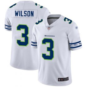 Wholesale Cheap Nike Seahawks #3 Russell Wilson White Men\'s Stitched NFL Limited Team Logo Fashion Jersey