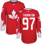 Wholesale Cheap Team Canada #97 Joe Thornton Red 2016 World Cup Stitched Youth NHL Jersey