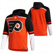 Wholesale Cheap Philadelphia Flyers Blank Adidas Reverse Retro Pullover Hoodie Orange
