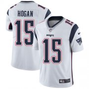 Wholesale Cheap Nike Patriots #15 Chris Hogan White Youth Stitched NFL Vapor Untouchable Limited Jersey