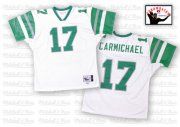 Wholesale Cheap Mitchell And Ness Eagles #17 Harold Carmichael White Stitched Throwback NFL Jersey