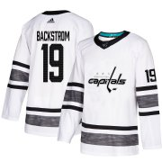 Wholesale Cheap Adidas Capitals #19 Nicklas Backstrom White 2019 All-Star Game Parley Authentic Stitched NHL Jersey