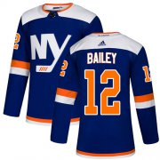 Wholesale Cheap Adidas Islanders #12 Josh Bailey Blue Alternate Authentic Stitched Youth NHL Jersey