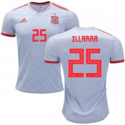Wholesale Cheap Spain #25 Illarramendi Away Soccer Country Jersey