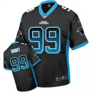 Wholesale Cheap Nike Panthers #99 Kawann Short Black Team Color Youth Stitched NFL Elite Drift Fashion Jersey