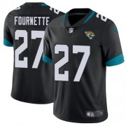Wholesale Cheap Nike Jaguars #27 Leonard Fournette Black Team Color Youth Stitched NFL Vapor Untouchable Limited Jersey