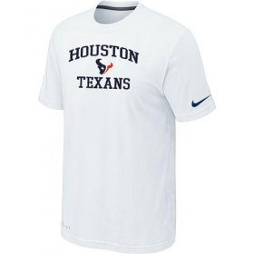 Wholesale Cheap Nike NFL Houston Texans Heart & Soul NFL T-Shirt White