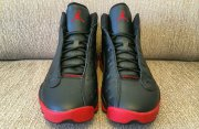 Wholesale Cheap Air Jordan 13 dirty bred Shoes Black/red