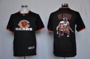 Wholesale Cheap Nike Bears #54 Brian Urlacher Black Men's NFL Game All Star Fashion Jersey