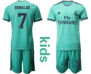 Wholesale Real Madrid #8 Kroos Third Kid Soccer Club Jersey